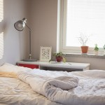 Colours in the bedroom can affect sleeping