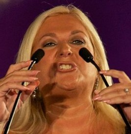 Vanessa Feltz has been fined at hit with points for speeding