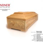 The front cover of the Linder coffin company calender 2013