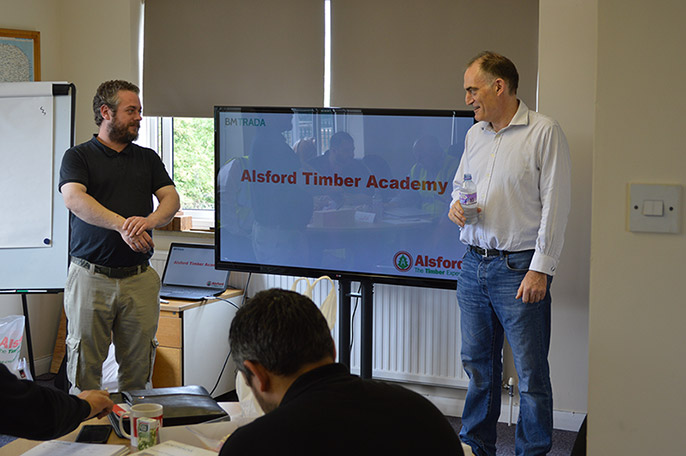 Alsford Timber's new training academy