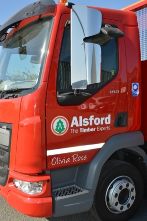 Alsfords Timber is adding new trucks to its fleet in order to cope with demand