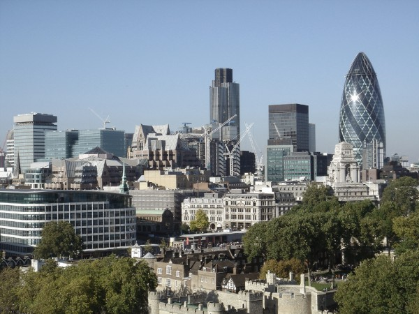 The City of London is home to several FTSE 100 companies