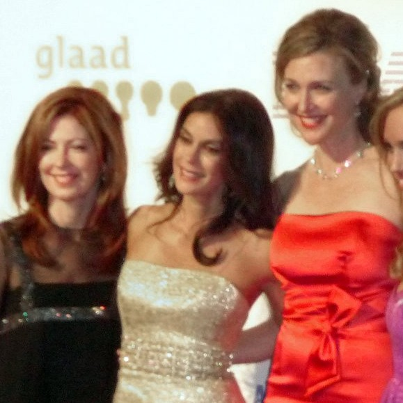 Dana Delany, Terri Hatcher, Brenda Strong and Andrea Bowen of Desperate Housewives at the 2009 GLAAD Media Awards