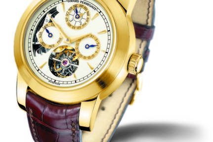 The handmade 'Opera Two' Girard-Perregaux time piece on sale for £500k