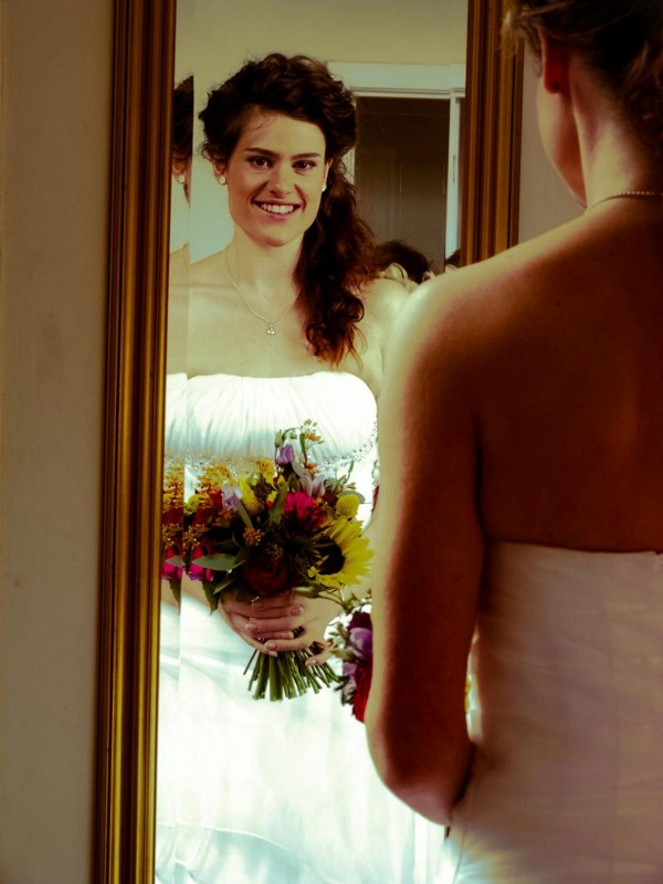 Six in ten single women have already planned parts of their wedding (file picture)