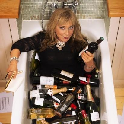 Wine lover Helen Lederer admits she likes Blue Nun