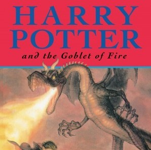 Harry Potter and the Goblet of Fire is the book most people will have on their shelves