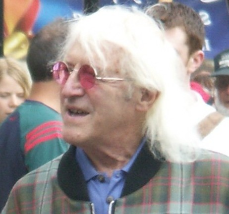 Jimmy Savile before he died