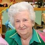 Doris Etheridge retires from her 35 year career as a checkout girl... because of self-service tills