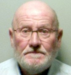 Creepy pensioner David King, who has been jailed for abusing a Halloween party reveller