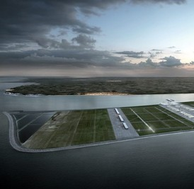 Plans for a £39 billion airport for London in the North Sea
