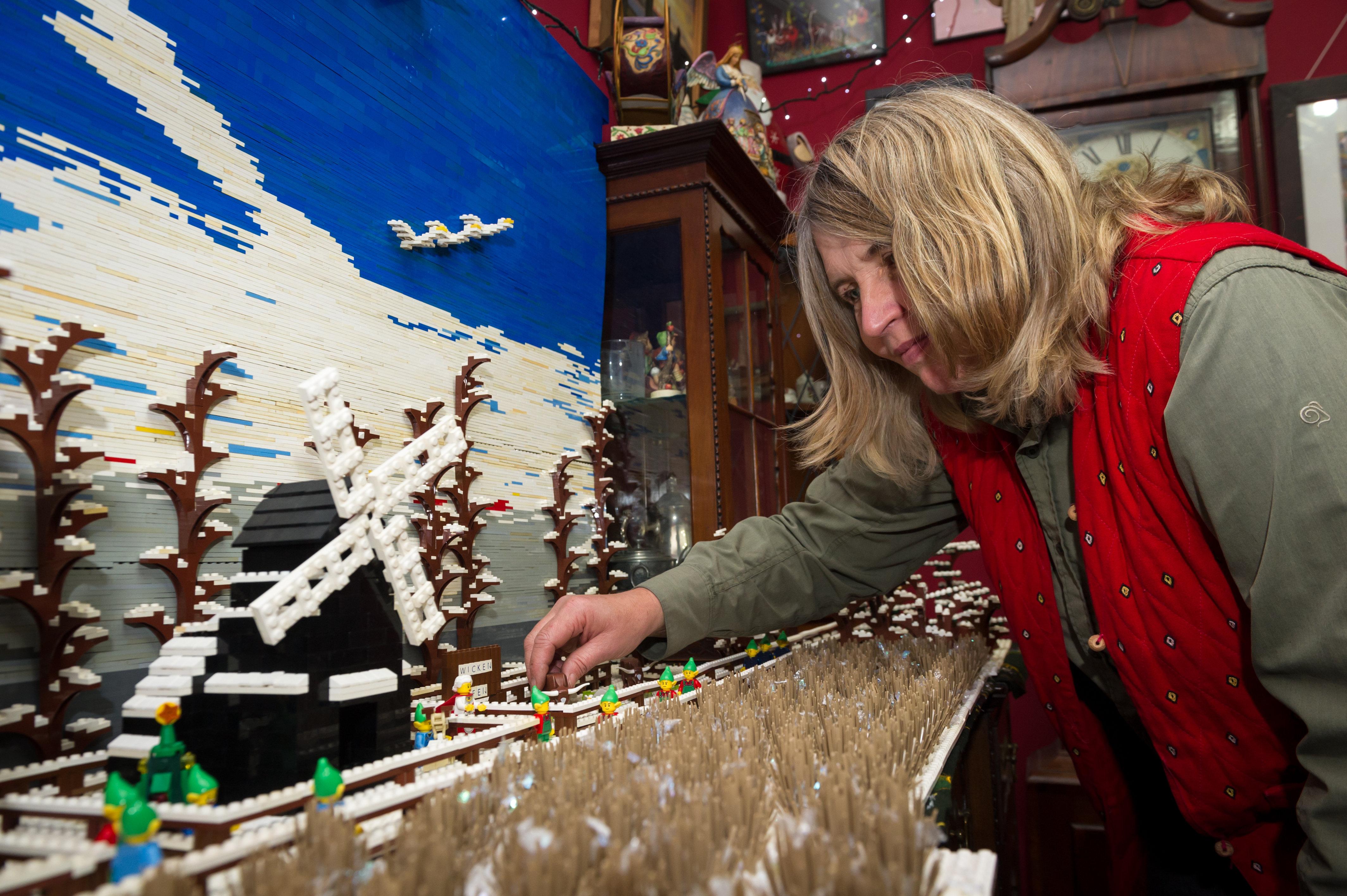 Wicken Christmas.Christmas Lego Swns
