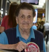 Cleaner Marjorie Rose celebrates her 90th birthday at the Mall Chequers, Maidstone
