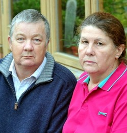 Peter and Marian Sycamore are devastated after their boat was washed away in floods