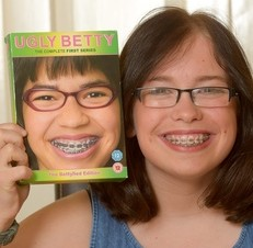Ellie Hitchcock-Wyatt, 16, was bullied over her looks but eventually found Ugly Betty as a way of gaining confidience