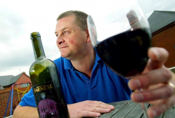 Men admit they drink wine at home but don't order it at the pub in case their friends make fun of them