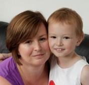 Bethan Evans and her mum Lynne