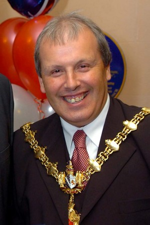 Former Dudley mayor Ray Burston who has been caught using his work laptop to watch PORN
