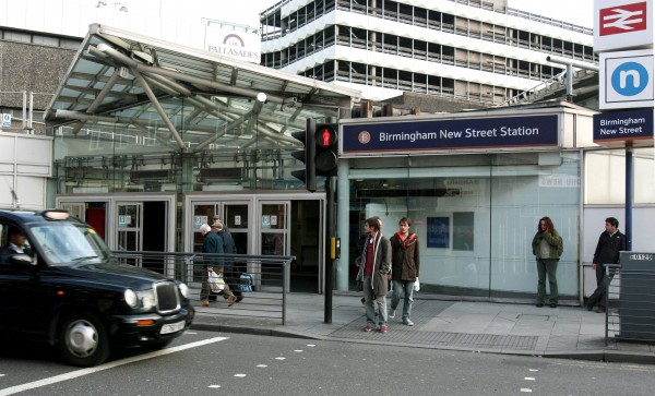 The passenger had been travelling from Birmingham's New Street station to London Euston