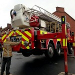 Ten firefighters were involved in the rescue operation - costing the taxpayer £4,000