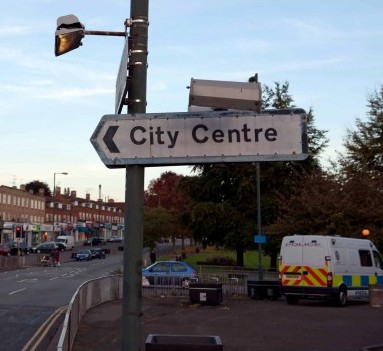 An unappealing scene from the city of Coventry, which is now set to have its own reality TV show similar to TOWIE