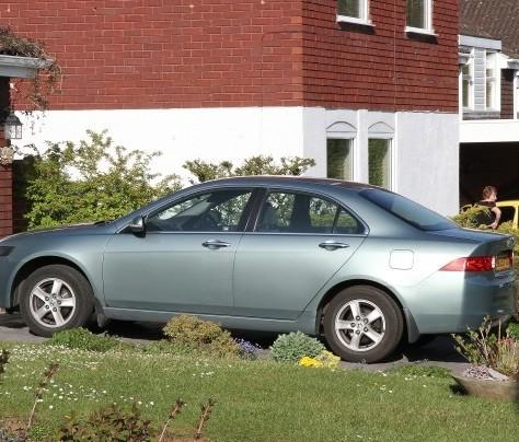 Ian Killick's car that ran him over outside his house