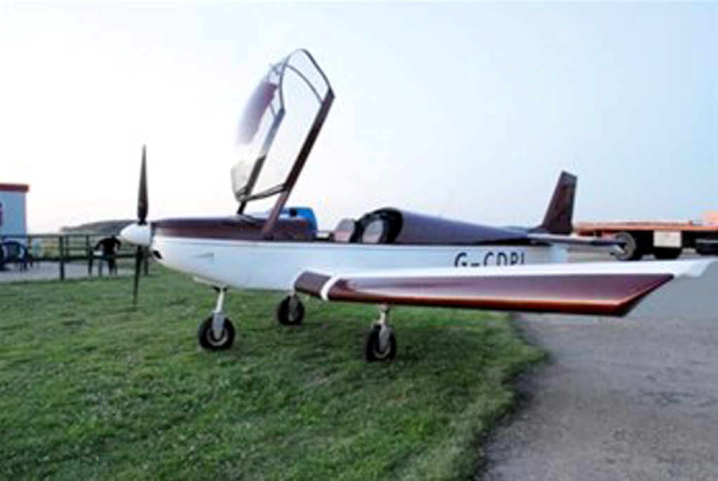 The light aircraft used by the gang to smuggle drugs into the UK