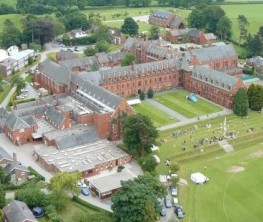 Ellesmere College in Shropshire where the badly decomposed remains were found