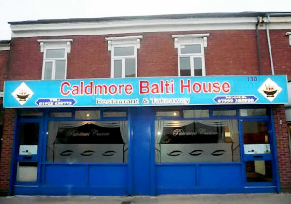 The Caldmore Balti House in Walsall, West Midlands