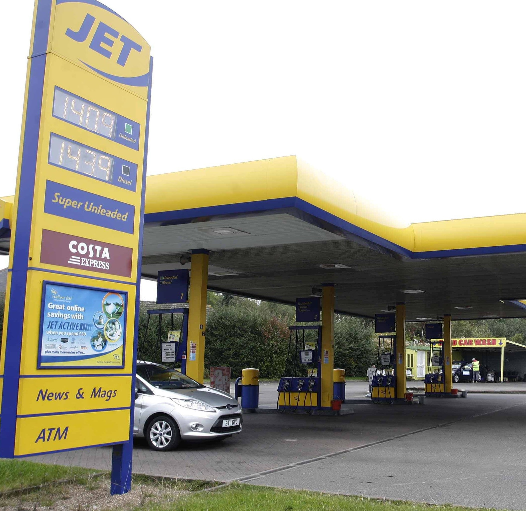 The Jet garage in Coventry where drivers queued for four hours after a mistake saw petrol on sale for just 13p a litre