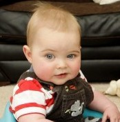 Sally Ann Charlton and son Ryan Black from Mansfield who was born with half a heart