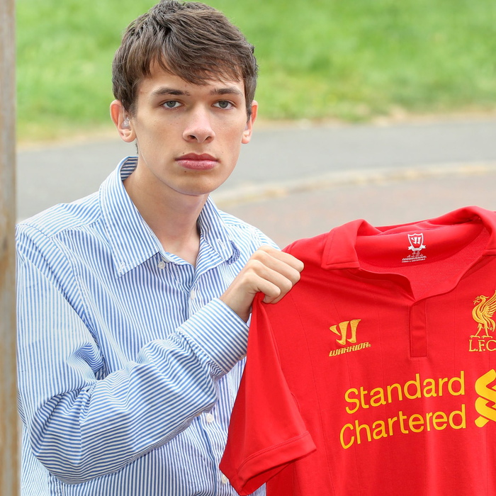 Nicholas Bieber wanted 'Justice '96' printed on his Liverpool shirt in memory of the victims of the Hillsborough disaster but Sports Direct refused