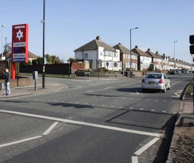 Coventry Road in Birmingham where the hit and run happened