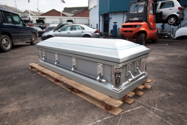 The 50kg steel casket, normally worth £2000, that was sold for scrap metal at a value of just £10 at Taroni's Motor Spares in Birmingham, West Midlands