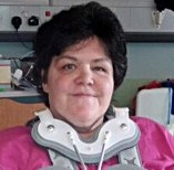 Susan Moseley, 50, who has been left paralysed following a car crash on New Years day