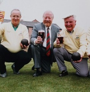 Club Members in 1991 Peter Watts, Mike Defaye, Ron Worthington ( former landlord of the pub) and George Smith