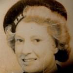 Joyce when she was a WREN