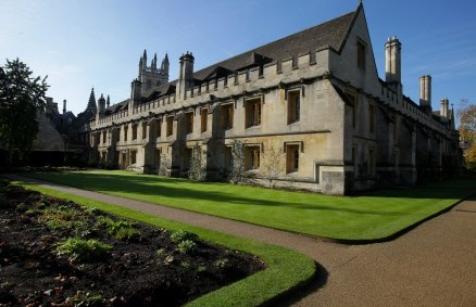 Magdalen College at Oxford University, where students have been stealing the cutlery from posh dinners