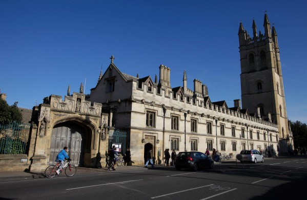 Traces of cocaine have been found in six buildings at Oxford University (file picture)