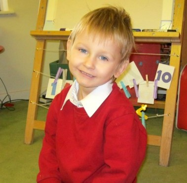 Daniel Pelka pictured at school. He was starved, locked in a home-made prison and beaten to death by his mother and step-father