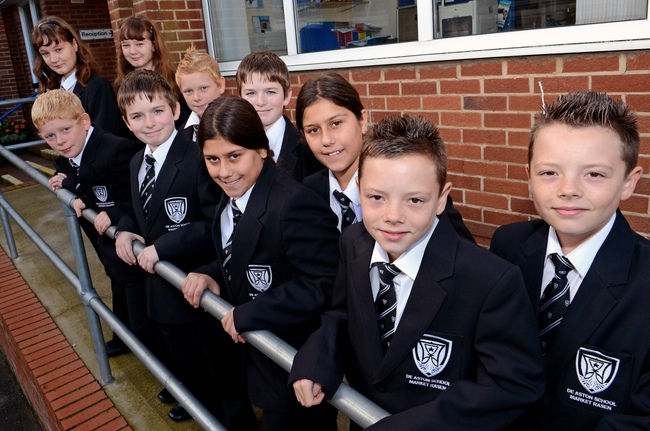 Pictured from left to right, Catherine and Elizabeth Ormian, Jake and James Murphy, Adam and Jack Richards, Charlotte and Emily Kaur and Jack and Joshua Davis