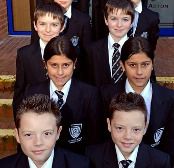 The odds of five sets of identical twins starting a school at the same time are around 10,000/1
