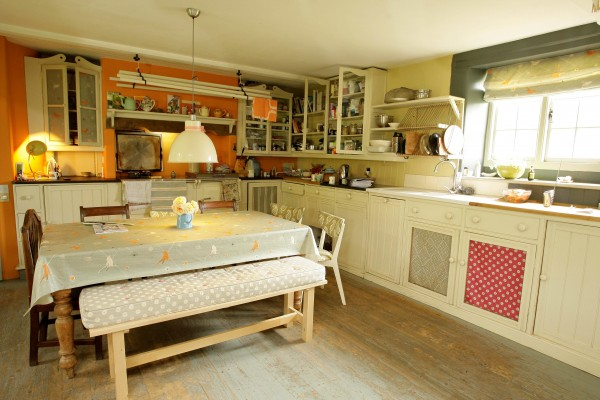 The kitchen is the focus of the home (file picture)