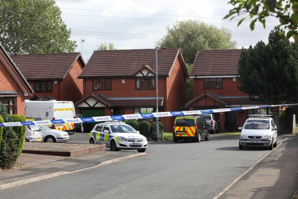 The road in Walsall where the body of Varkha Rami was discovered in a detached property