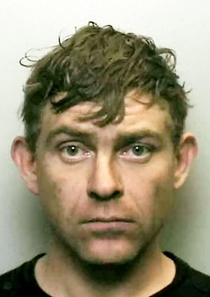 Matthew Walters who has been jailed for nearly four years after he dug a 'cave' under his home where he grew cannabis
