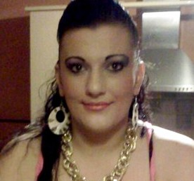 Facebook picture of Marie Dawn Watton who allegedly stabbed a man in the stomach with a six inch blade after he tried to chat her up.