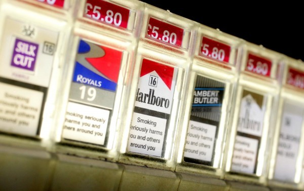 The taxi driver was caught smuggling tobacco into Britain after his car caught fire (file picture)