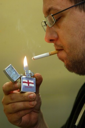 Men who smoke regularly in their teens have fatter sons, it is claimed
