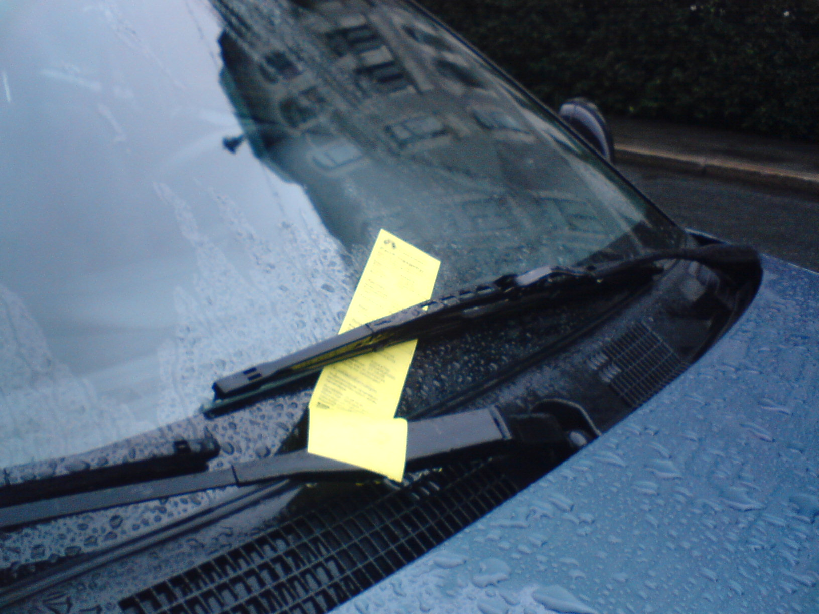 Britain's doziest driver has been hit with 55 parking tickets in just one year