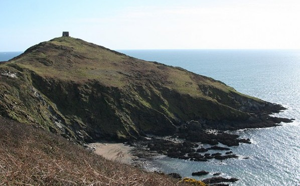 Rame Head in Cornwall where the pony was stranded